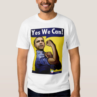 Yes We Can! T Tee Shirt