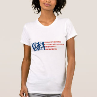 YES WE CAN T SHIRT