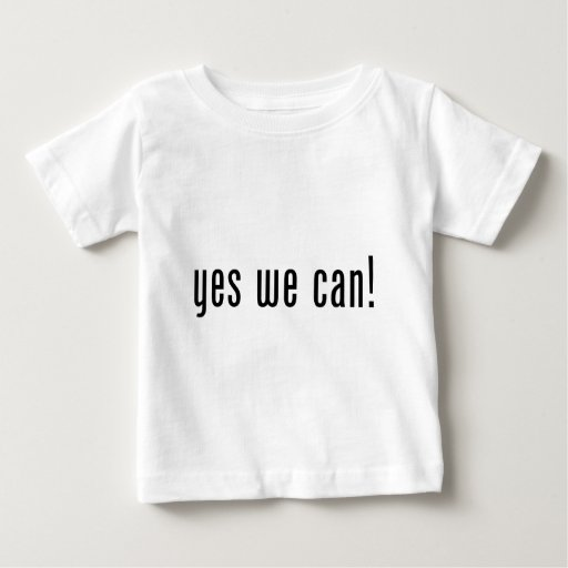 yes we can tshirts