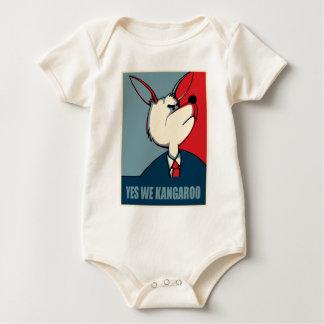 Yes we can - Yes we Kangaroo Baby Bodysuit