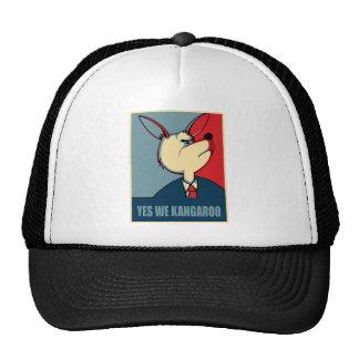 Yes we can - Yes we Kangaroo Trucker Hat