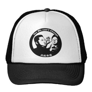 Yes We can't Change Trucker Hat