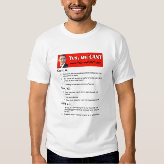 Yes, we CANT T-Shirt