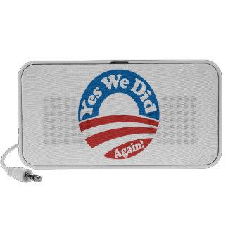 Yes We Did, Again! Portable Speaker
