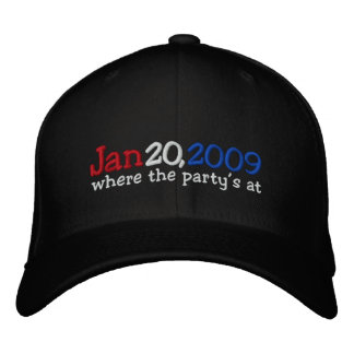 Yes We Did Barack Obama Official Party Hat