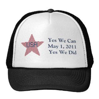 Yes We Did Bin Laden Dead Hat
