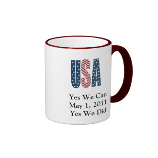 Yes We Did Bin Laden Dead Mug