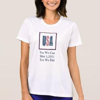 Yes We Did Bin Laden Dead Women's Shirt