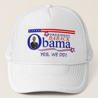 Yes We Did! - President Obama Hat