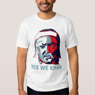 Yes We Khan (Light) T Shirt