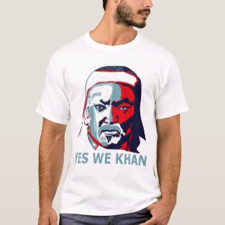 Yes We Khan (Light) T-Shirt