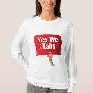 Yes We love Kahn T-Shirt