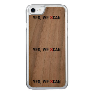 Yes, We Scan  NSA PRISM Carved iPhone 7 Case