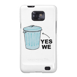 YES WE TRASH CAN.png Samsung Galaxy SII Cases