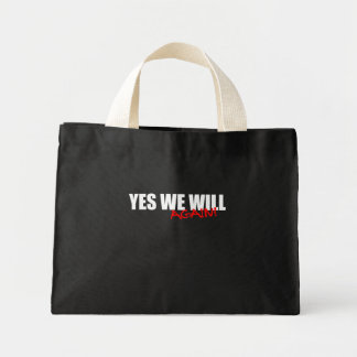 YES WE WILL AGAIN CANVAS BAG