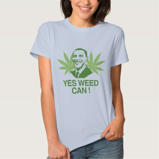 YES WEED CAN.png Tshirt