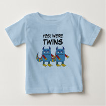 Yes! We're Twins Baby T-Shirt