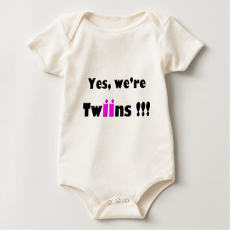 yes were twins pink-pink bodysuits