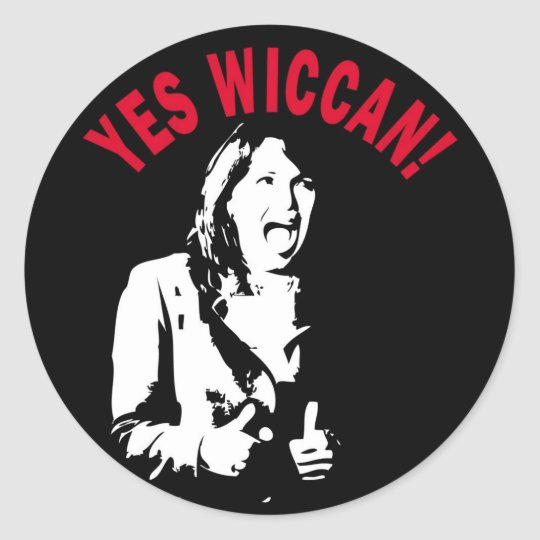 Yes Wiccan! Sticker