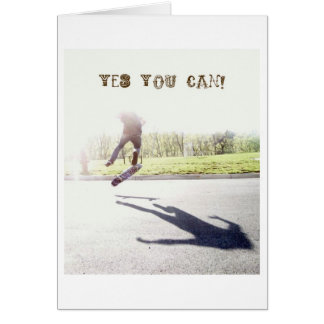 yes you can! card
