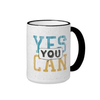 Yes You Can Ringer Mug