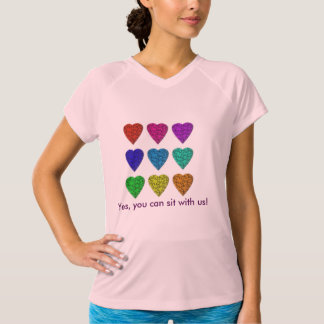 Yes, you can sit with us! Tee for Women