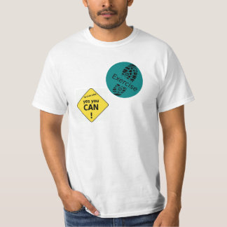 """""""Yes You Can"""" Workout T-Shirt"""