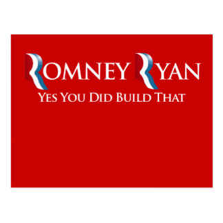 YES YOU DID BUILD THAT - - png Postcard