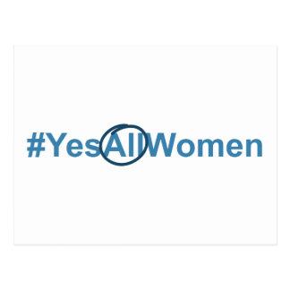 #YesAllWomen Postcard