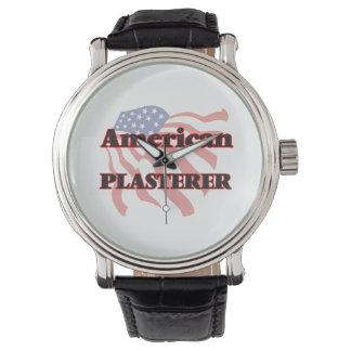 Yesero americano reloj de mano
