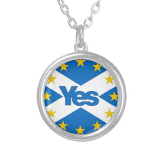yeseu3 silver plated necklace
