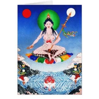 Yeshe Tsogyel [card] Greeting Card