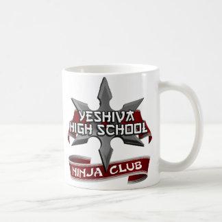 Yeshiva High School Ninja Club Coffee Mug