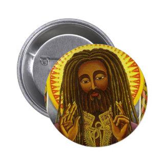 Yeshu Rasta Fari Pinback Button