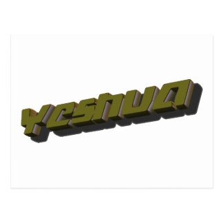 Yeshua 3D Postal