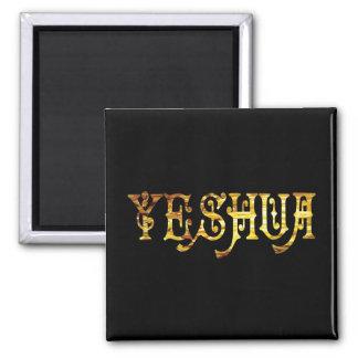 Yeshua 5 Or Fond noir Magnet