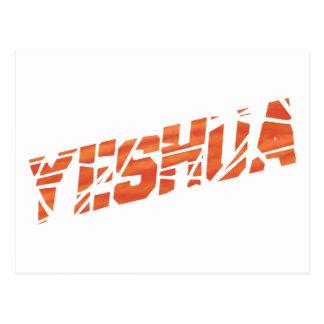 Yeshua cassé Orange Postcard