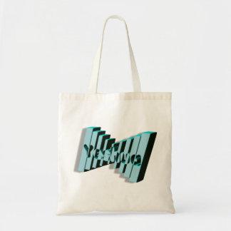 Yeshua Domino Bleu 3D Tote Bag
