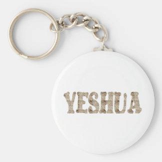 Yeshua effet manuscrit keychain