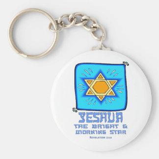 Yeshua el brillante y el lucero del alba llavero