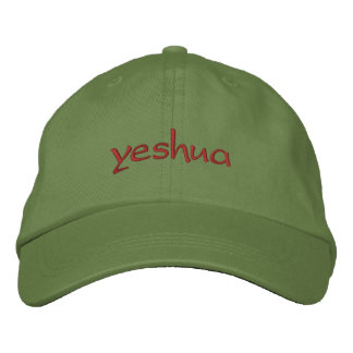yeshua embroidered baseball cap
