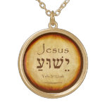 YESHUA Hebrew Necklace