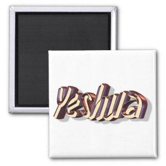 Yeshua Manus 3D 2 Inch Square Magnet