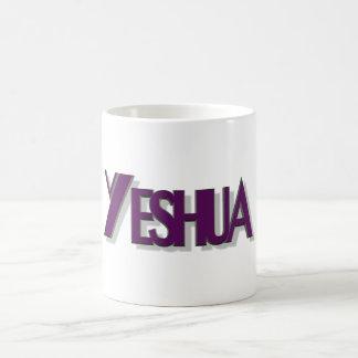 Yeshua mauve 3D Coffee Mug