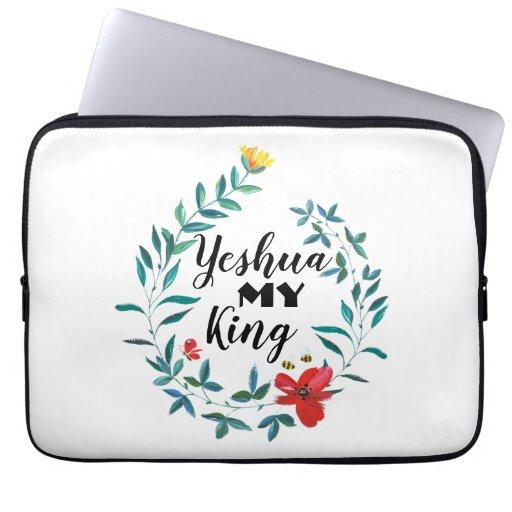 Yeshua My King Beautiful laptop sleeve