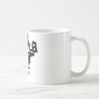 Yeshua peinture noire coffee mugs