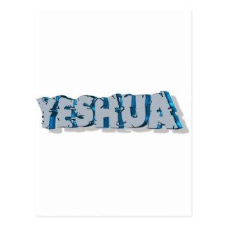 Yeshua Roc Bleu 3D Postcard