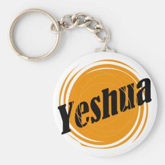 Yeshua Sphere Basic Round Button Keychain