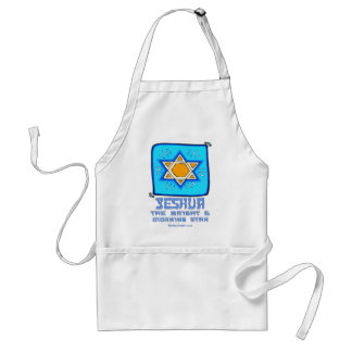 Yeshua The Bright and Morning Star Adult Apron