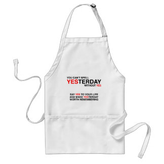 Yesterday Adult Apron
